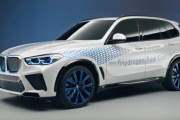 BMW hydrogen SUV X5 australia