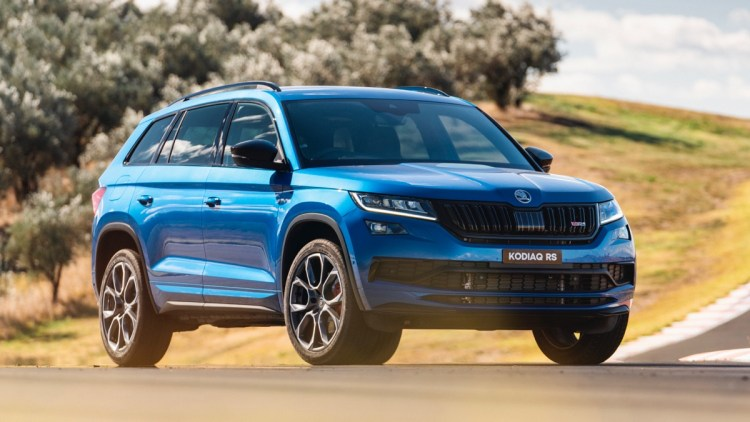 Skoda Kodiaq RS australia review 2020