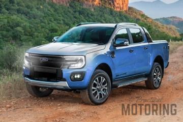 2021 Ford Ranger rendering