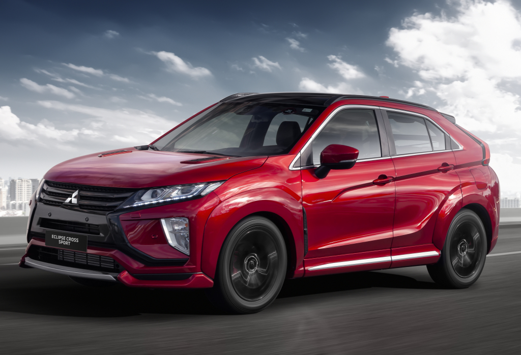 facelifted mitsubishi eclipse cross arrives next year