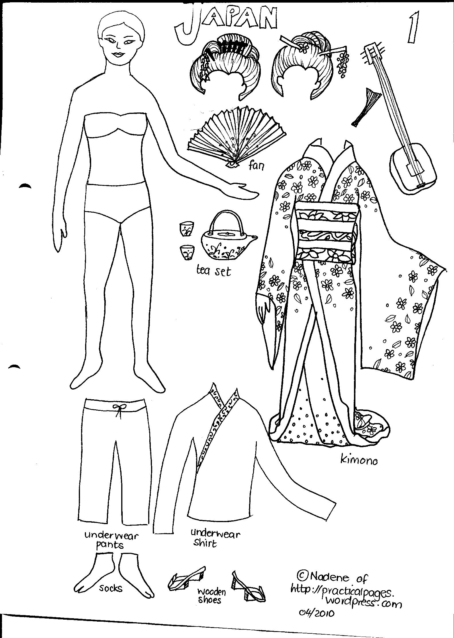 Printable Paper Dolls China Other Dresses Dressesss