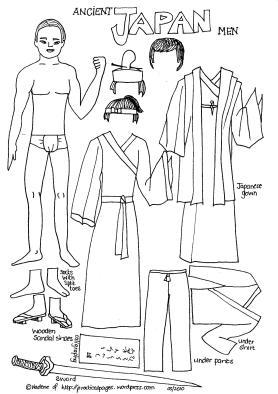 Ancient Japan Men