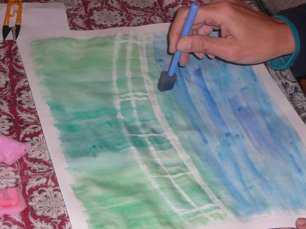Our Monet Inspired Water Lily Pond Paintings