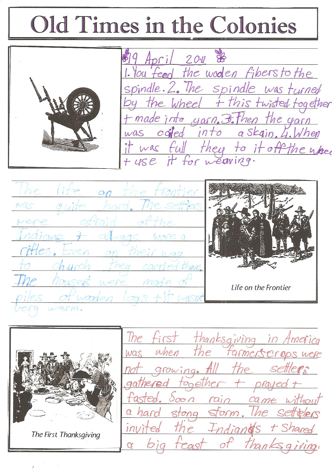 America The Story Of Us Worksheets