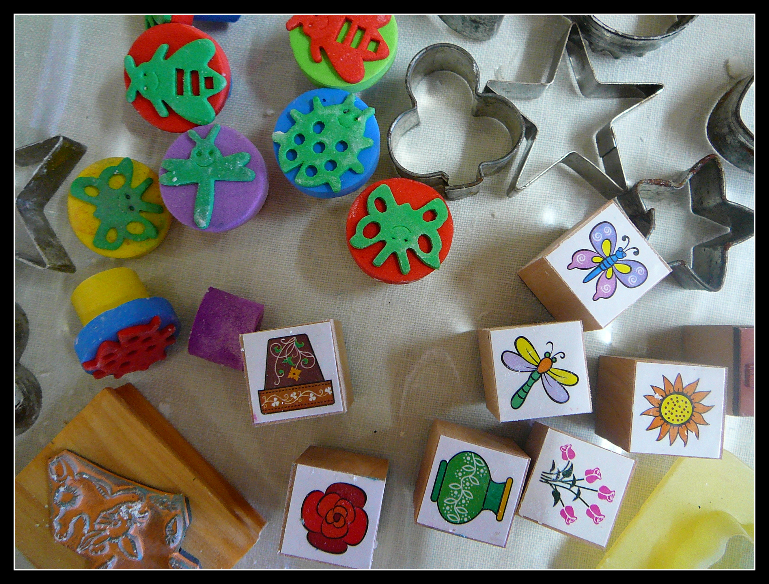 Corn Starch Clay Decorations