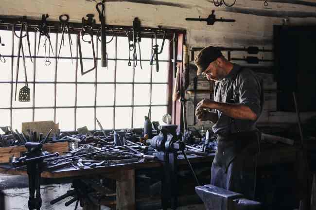 hard-working man