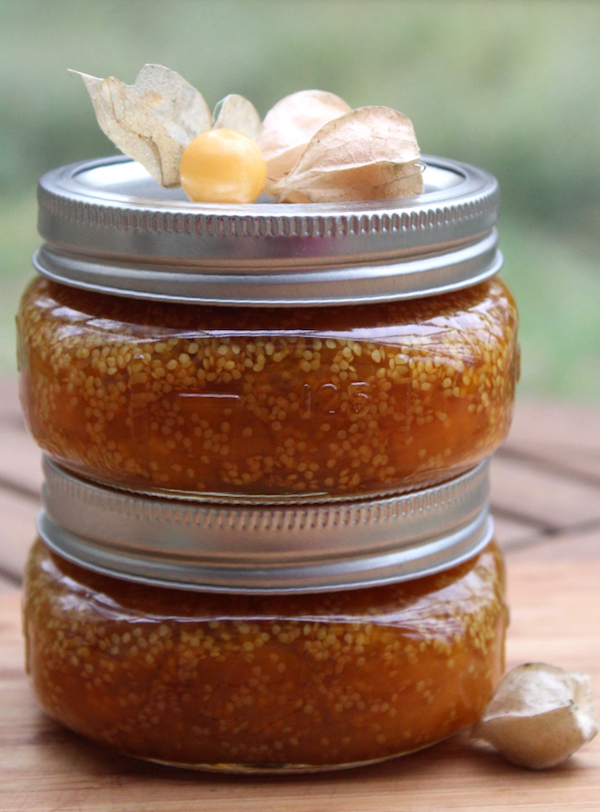Ground Cherry Jam Recipe