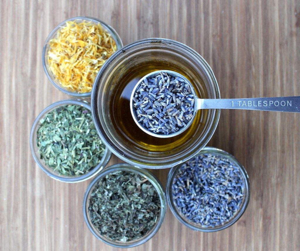 Herbs for Infused Oil