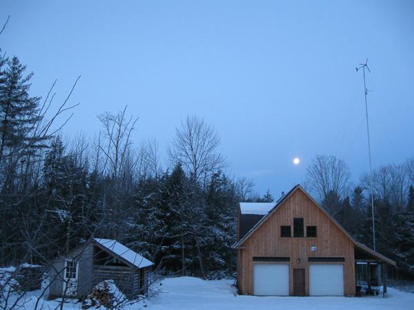 January Full Moon Homestead