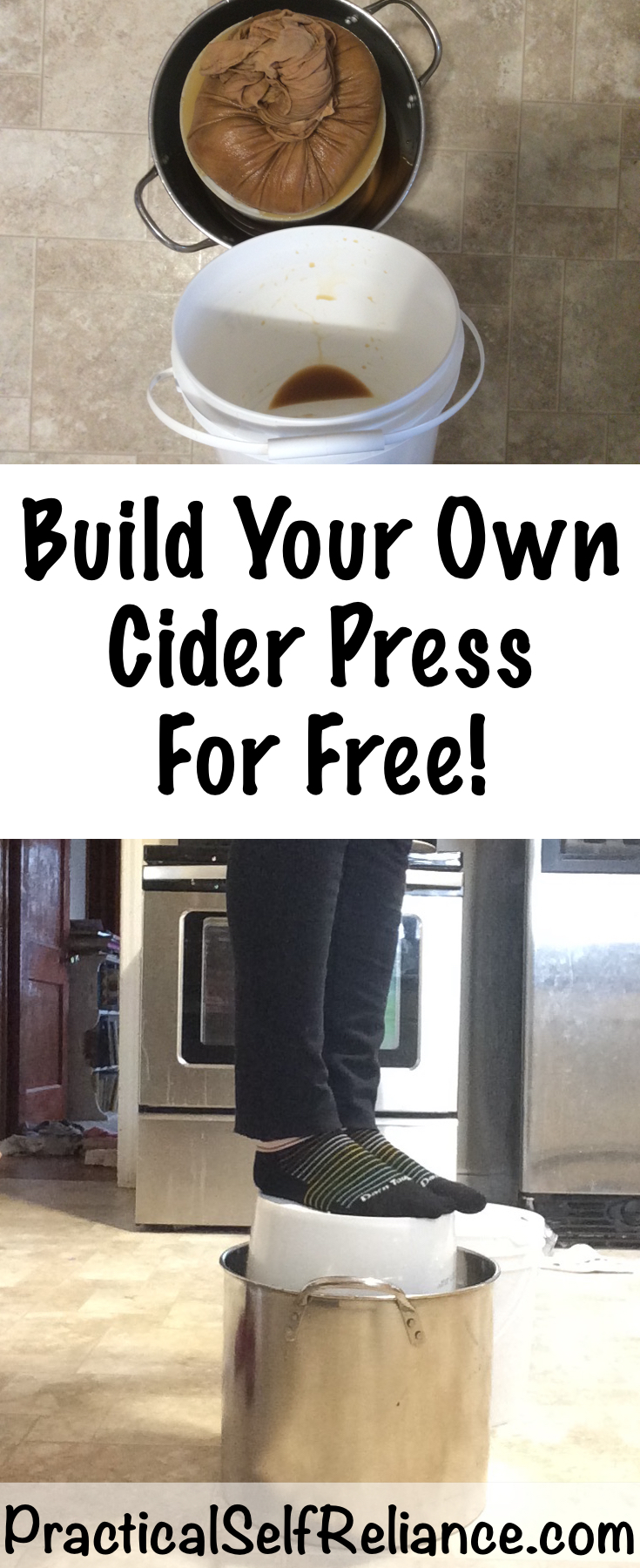 Build Your Own DIY Cider Press for Free