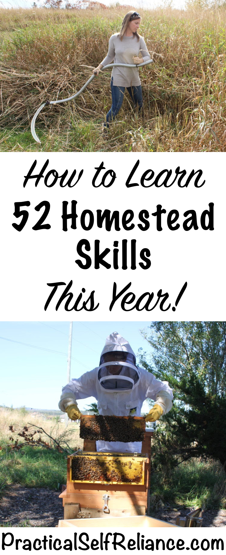 How to Learn 52 Homestead Skills This Year #skills #homestead #homesteading #selfsufficiency #selfreliant #preparedness