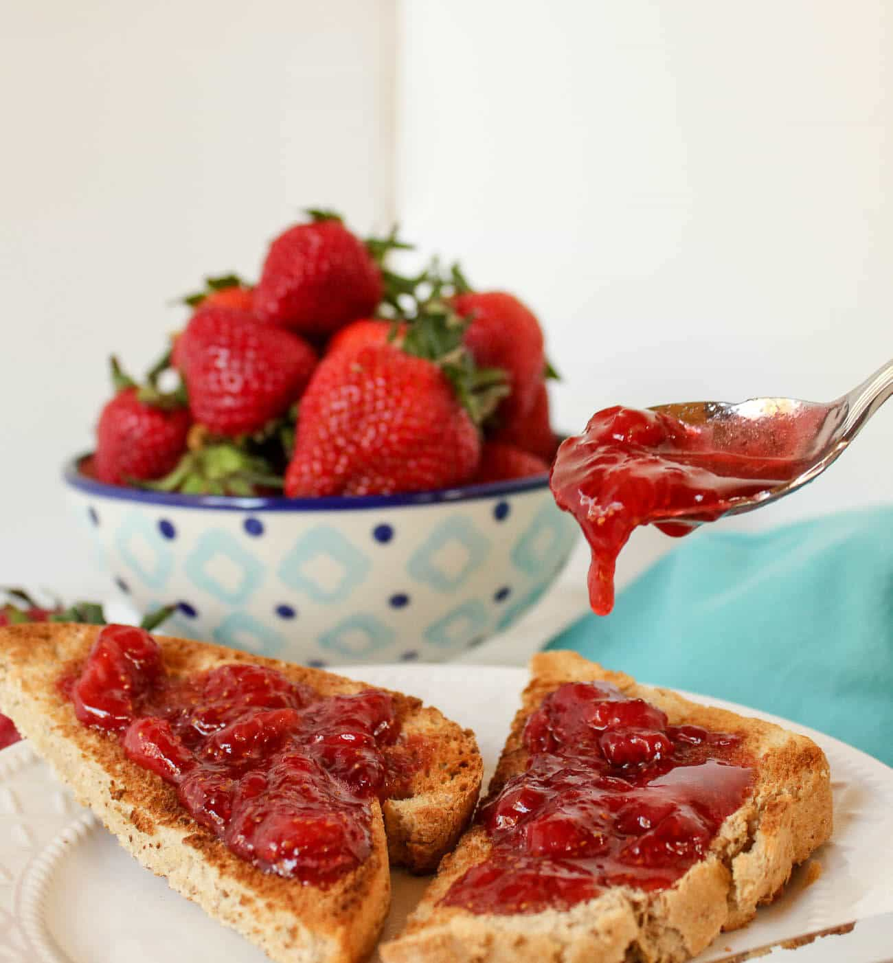 Simple Strawberry Jam