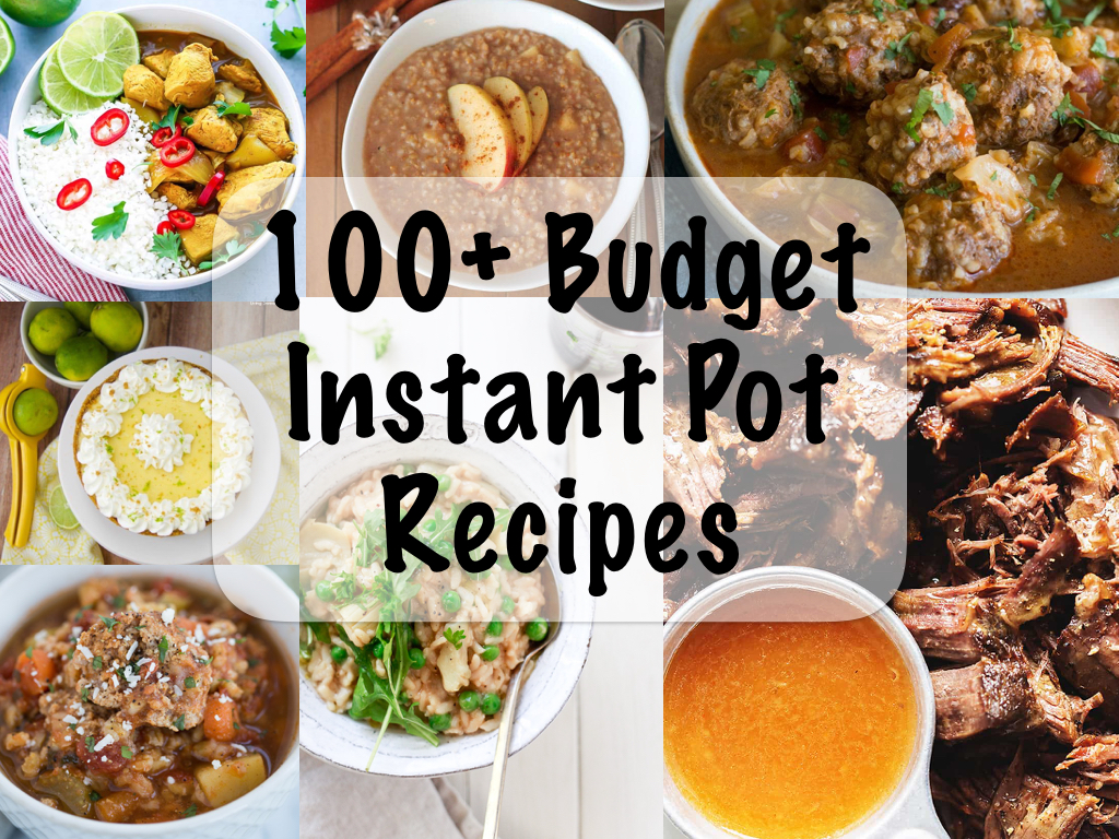 100 Budget Instant Pot Recipes
