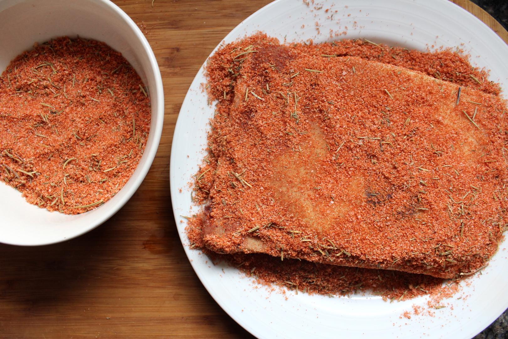 Salt Cured Pork Jowl