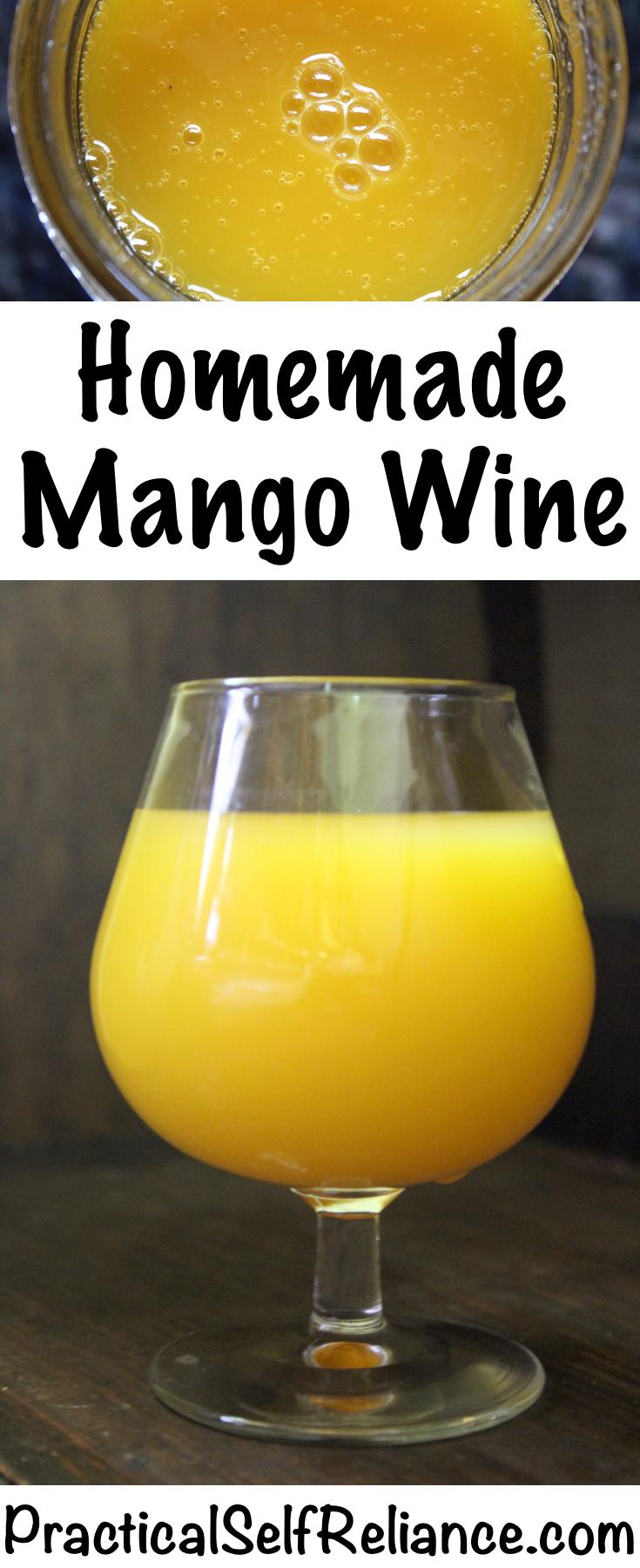 Homemade Mango Wine Recipe