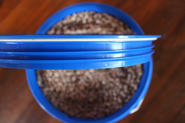 Gamma Seal Lid for Long Term Food Storage