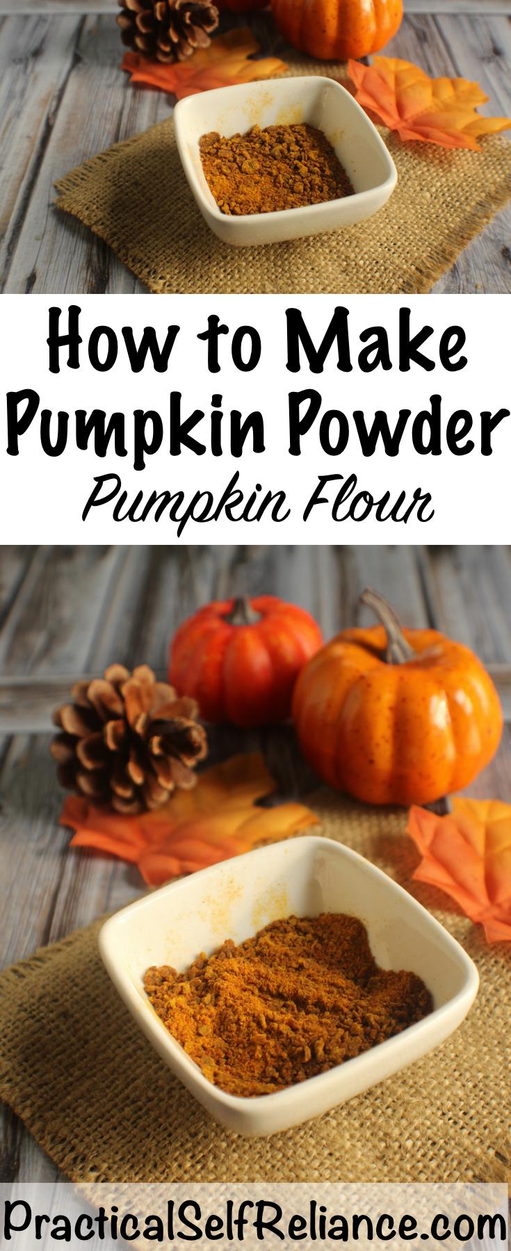 How to Make Pumpkin Powder (Pumpkin Flour) ~ Dehydrating Pumpkin Puree #pumkin #recipes #pumpkinrecipes #pumpkinflour #pumpkinpiespice #foodpreservation #dehydrating #selfsufficiency #preparedness #prepper #homesteading