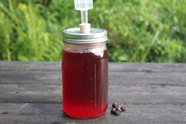 Small Batch Black Raspberry Wine