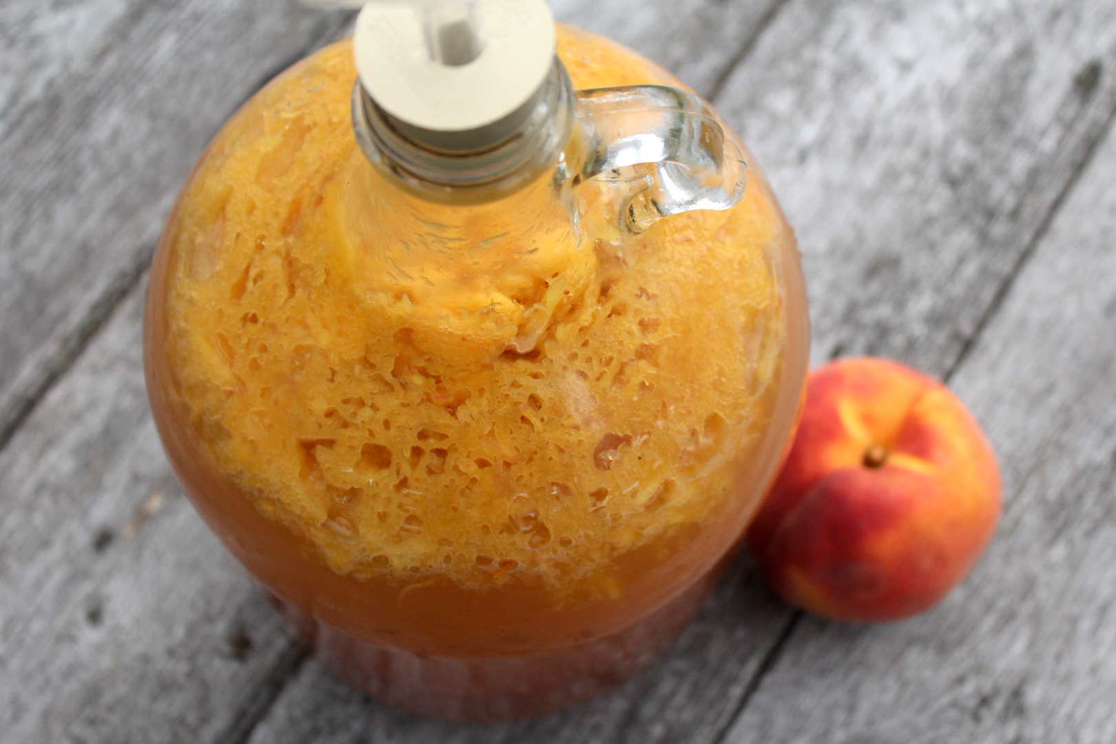 Homemade Peach Wine Practical Self Reliance