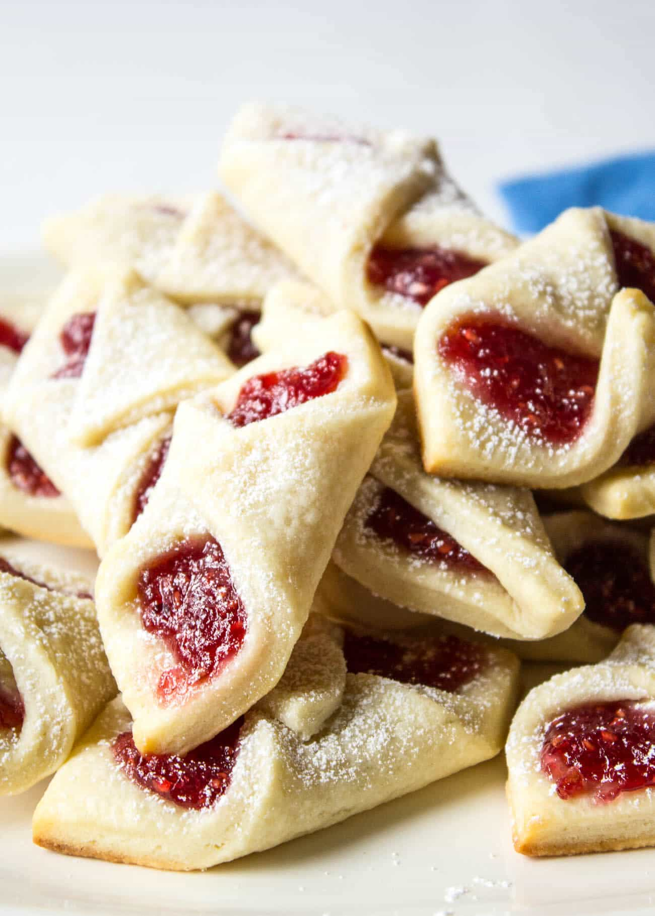 Raspberry Bow Tie Cookies from Beyond the Chicken Coop