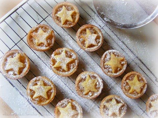 Lemon Ginger Cardamom Jam Tarts from Elizabeth's Kitchen Diary