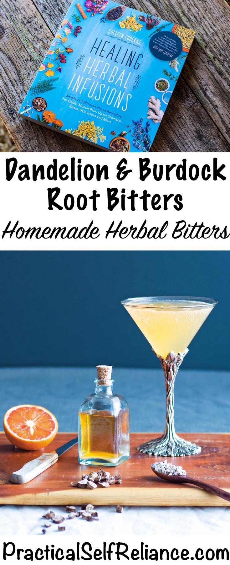 Dandelion and Burdock Herbal Bitters