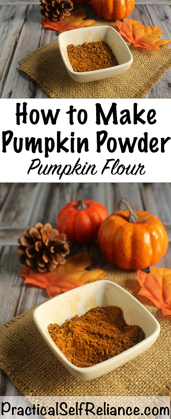 How to Make Pumpkin Powder (Pumpkin Flour) ~ Dehydrating Pumpkin Puree #pumkin #recipes #pumpkinrecipes #pumpkinflour #pumpkinpiespice #foodpreservation #dehydrating #selfsufficiency #preparedness #prepper #homesteading