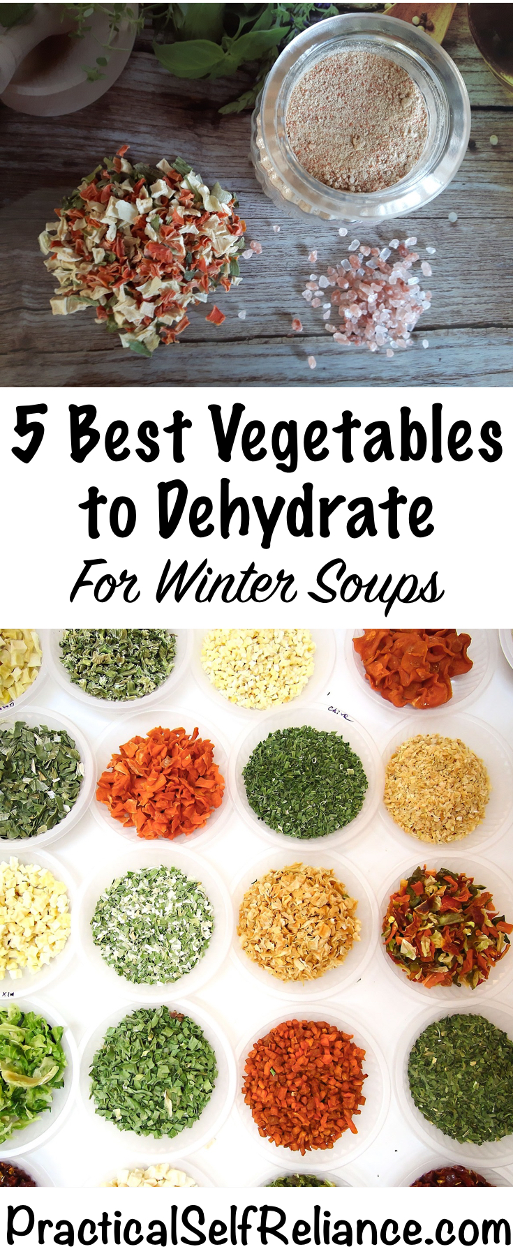 Best Vegetables to dehydrate for Soup