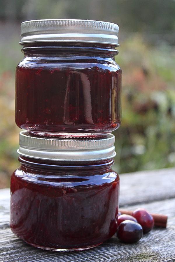 Cranberry Sauce Jars