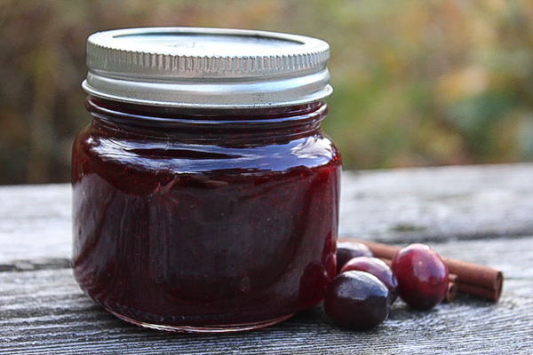 Home Canned Cranberry Sauce