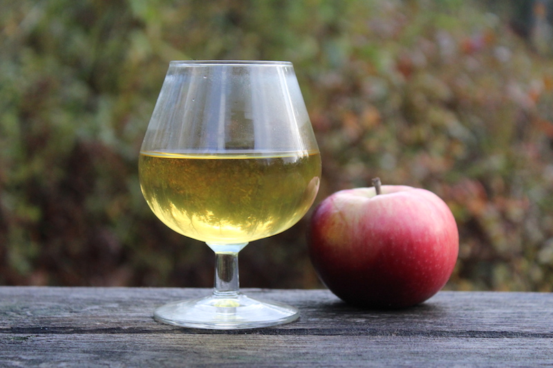 Finished Hard Cider