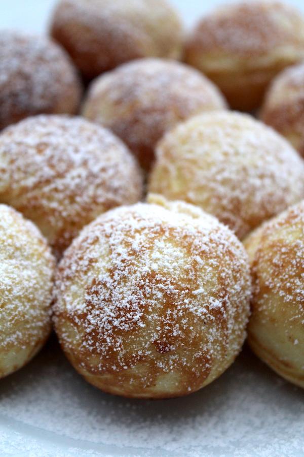 How to make Aebleskiver ~ Danish Pancake Puffs
