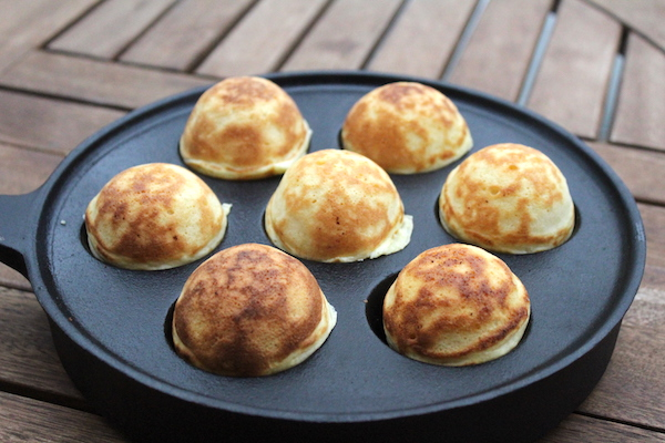 Finished Aebleskiver