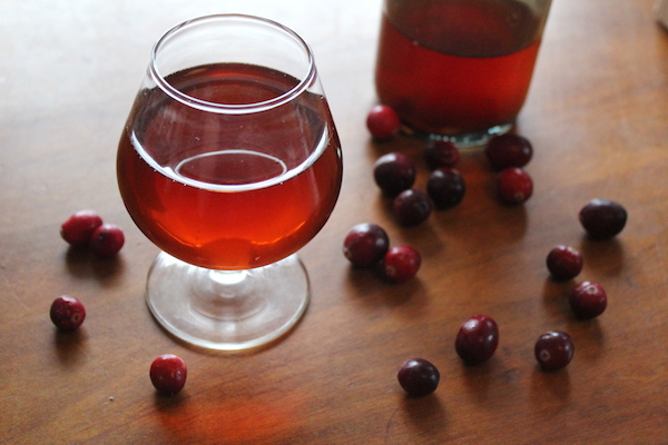 Homemade Cranberry Wine