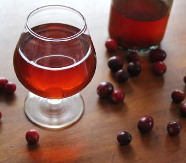 Homemade Cranberry Wine