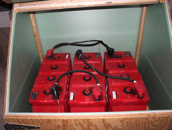 Off Grid Battery Bank for Vermont Home