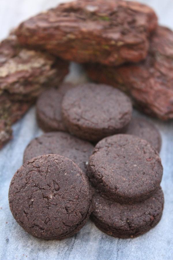 Pine Bark Cookies