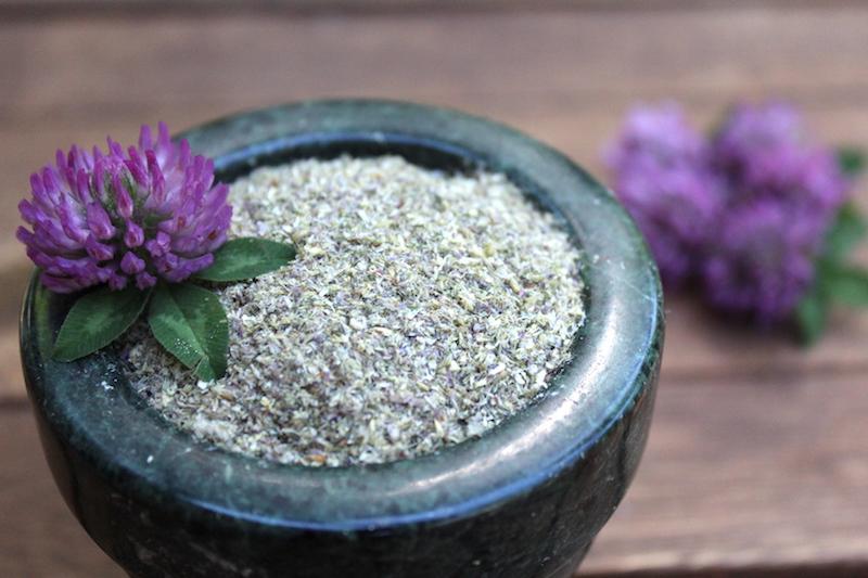 Red Clover Flower Flour