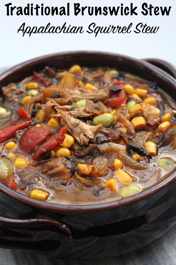 Traditional Brunswick Stew Recipe ~ Appalachian Squirrel Stew