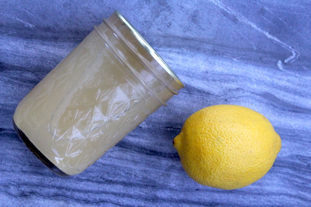 Canning Lemon Juice