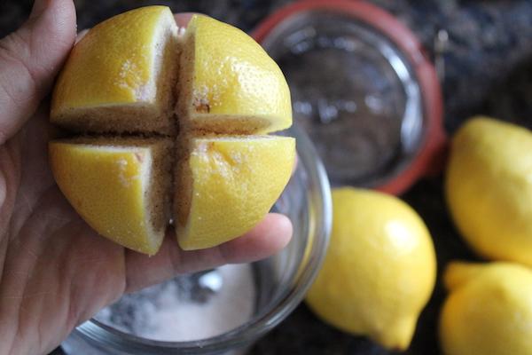 Cutting Lemons for Preserved Lemons