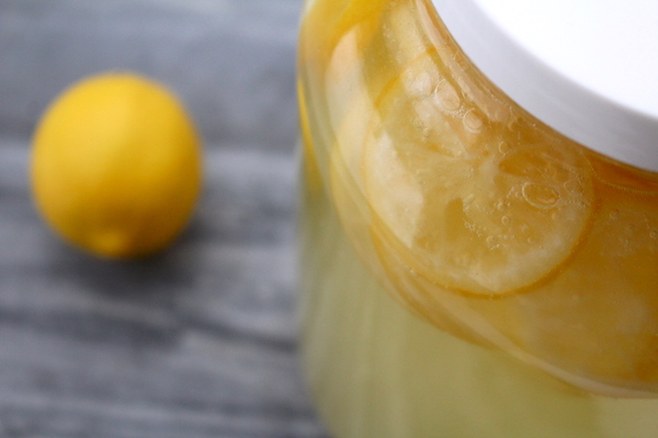 Homemade lemon wine recipe