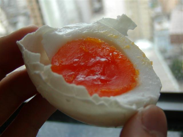 Chinese Salt Cured Egg