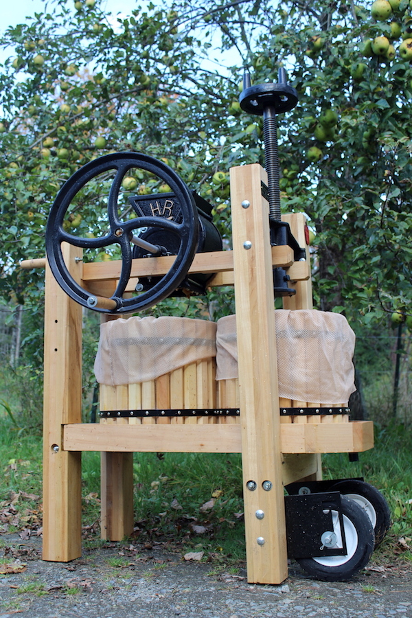 Double Barrel Cider Press
