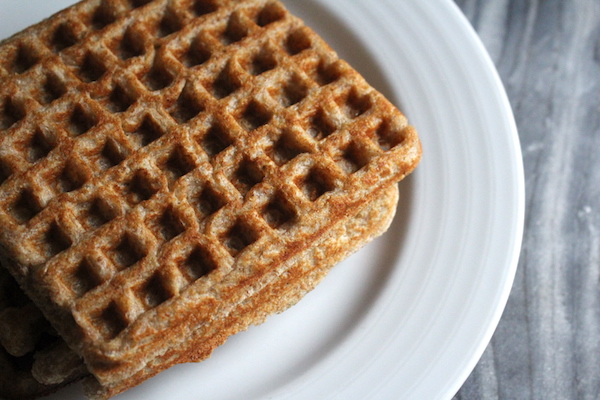 All Rye Sourdough Waffles