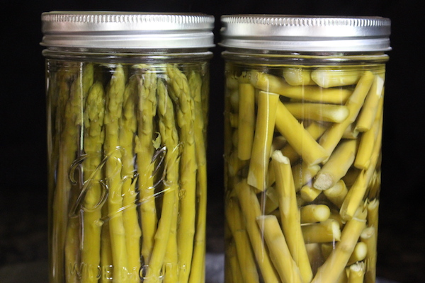 Canning asparagus whole verses as pieces.
