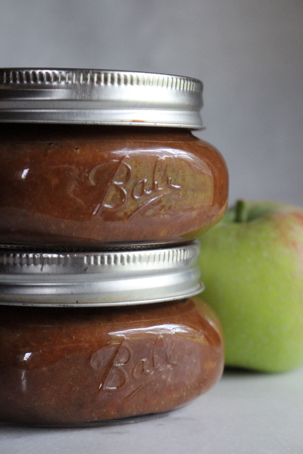 Canning Apple Butter in half pint jars