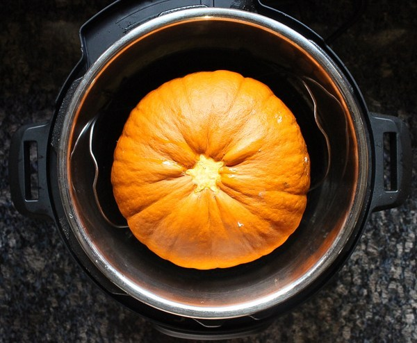 Cooking pumpkins in an Instant Pot