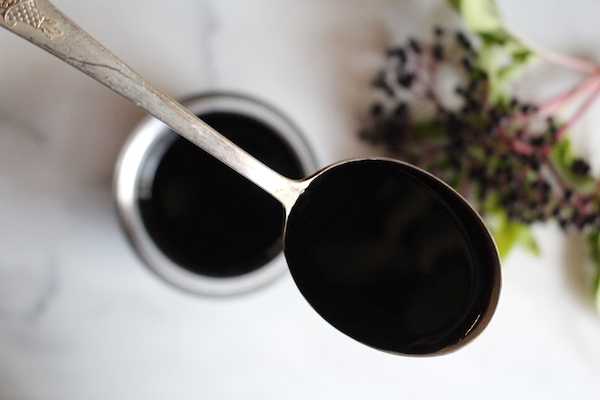 Spoon dosage for elderberry syrup