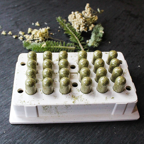 Yarrow Capsules (Image Courtesy of Nitty Gritty Life)